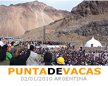 PUNTA DE VACAS 2010 - Useful Information